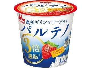 森永浓希腊酸奶Parteno草莓酱杯80g