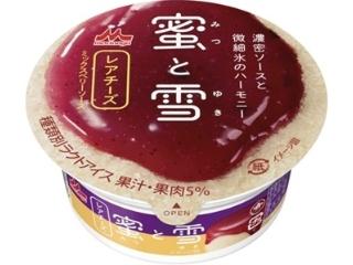森永蜂蜜和雪稀有奶酪杯150毫升