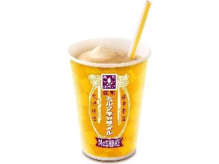 麦当劳的Mac Shake Morinaga牛奶焦糖