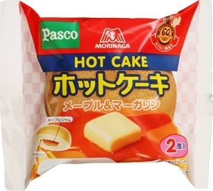 新発売のコンビニパン:パスコ「森永ホットケーキ メープル&マーガリン」など