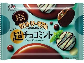 Fujiya巧克力Country Ma Am超级巧克力薄荷袋45g