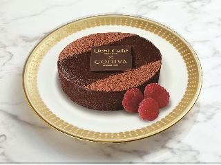 Lawson Uchi Cafe'SWEETS x GODIVA丰富的巧克力蛋糕