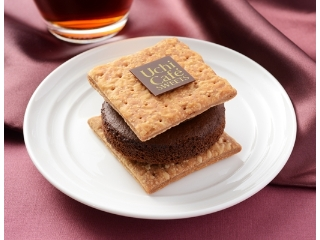 Lawson Uchi Cafe'SWEETS巧克力馅饼三明治