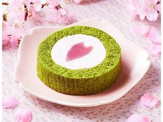 劳森樱桃和绿茶卷蛋糕~Haru·Haru·Ro~