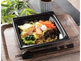 Lawson:Ankake Yakisoba,价值半天的蔬菜