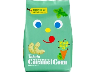 Tohato焦糖玉米巧克力薄荷味袋77g