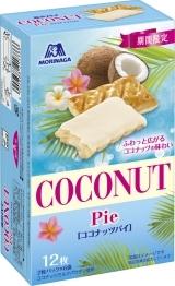 新発売のおやつ:森永製菓「ココナッツパイ」ほか