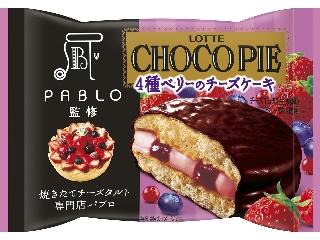 乐天巧克力派PABLO监督4种芝士蛋糕袋1个浆果