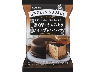 Lotte SWEETS SQUARE厚厚而深深交织的icesachtorte包75毫升