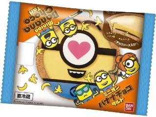 Bandai Minion香蕉巧克力挞1袋