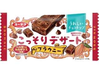 Yuraku糖果秘制甜点布朗尼1袋