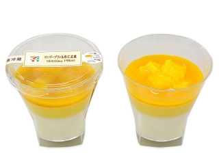 Seven-Eleven芒果布丁和杏豆腐
