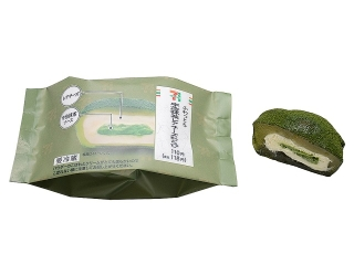 Seven-Eleven蓬松的宇治抹茶稀有奶酪蕨菜