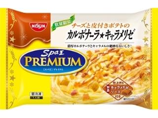 Nisshin spa king premium carbonara★焦糖包275克