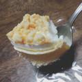 さくほろの冷たいチーズケーキ