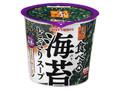 ポッカサッポロ 素材屋すうぷ 食べる海苔どっさりスープ カップ11.2g