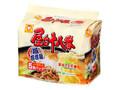 マルちゃん 屋台十八番 塩担担麺 5食パック 袋485g