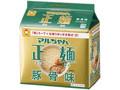マルちゃん正麺 豚骨味 袋91g×5