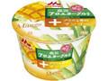 森永 アロエヨーグルト +な素材 マンゴー カップ118g