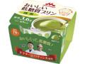 森永 おいしい低糖質プリン 抹茶 カップ75g