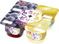 森永 とろけるゼリー ぶどう&グレープフルーツ カップ70g×4