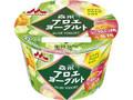 森永 アロエヨーグルト 完熟白桃&黄桃 カップ118g