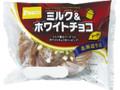 Pasco ミルク&ホワイトチョコドーナツ 袋1個