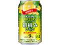 KIRIN チューハイ ビターズ 初摘みレモン 缶350ml