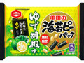 亀田製菓 海苔ピーパック ゆず胡椒味 袋82g