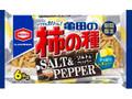 亀田製菓 亀田の柿の種 ソルト&ペッパー 袋6包