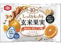 亀田製菓 玄米果実 オレンジ味 袋23g