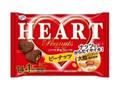 不二家 増量 ハートチョコレート ピーナッツ 袋15枚