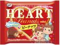 不二家 ハートチョコレート ピーナッツ ミニ サマーバレンタイン 袋42g