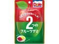 不二家 ドール2つのフルーツグミ 青りんご&赤りんご 袋45g