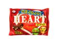 不二家 ハートチョコレート ピーナッツ 袋15枚