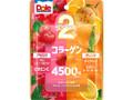 ドール 2つのフルーツグミ アセロラ&オレンジ キレイをプラス 袋75g