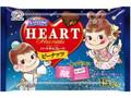 不二家 ハートチョコレート ピーナッツ サマーバレンタイン 袋15枚
