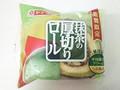 ヤマザキ 抹茶の厚切りロール 袋1個