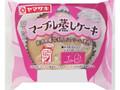 ヤマザキ マ-ブル蒸しケ-キ 新潟県産牛乳入りクリ-ム使用 袋1個