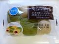 ヤマザキ FamilyMart collection(ファミリーマートコレクション) よもぎ求肥と小豆を包んだ よもぎと小豆のちぎれるパン 1個