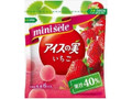 グリコ ミニセレ アイスの実 いちご 袋7ml×6