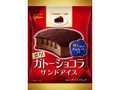 グリコ デザートスタイル ガトーショコラサンドアイス 袋83ml