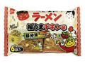 おやつカンパニー ベビースターラーメン 節分豆ミックス福うまチキン味 袋24g×6