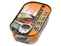 ホニホ さば照焼 国内産さば使用 遠赤外線で焼き上げ、しょうゆベースの甘辛いタレで味付け 缶100g