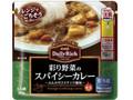 明治 Daily Rich 彩り野菜のスパイシーカレー 袋170g