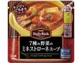 明治 Daily Rich 7種の野菜のミネストローネスープ 袋220g