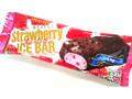 明治 ストロベリーチョコレートアイスバー 袋95ml