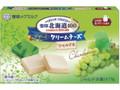 雪印メグミルク 雪印北海道100 クリームチーズ シャルドネ 箱6個