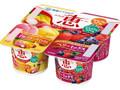 雪印メグミルク ナチュレ 恵 megumi 7種のフルーツミックス+ベリーミックス カップ70g×4