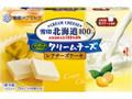 雪印 北海道100 クリームチーズ レアチーズケーキ 箱15g×6